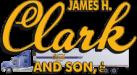 James H. Clark & Son logo