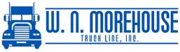 W. N. Morehouse Truck Line logo